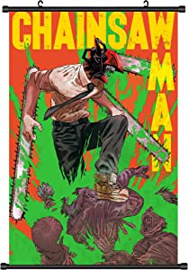 Chainsaw Man Poster denji chainsaw man Hanging Wall Picture Decor-25''*17