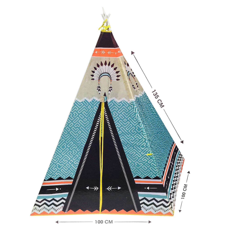 Speelgoedプレイテント - ウィグワム - 子供用テント - ティーピー - パーティー用テント [並行輸入品] B07BN28YZC