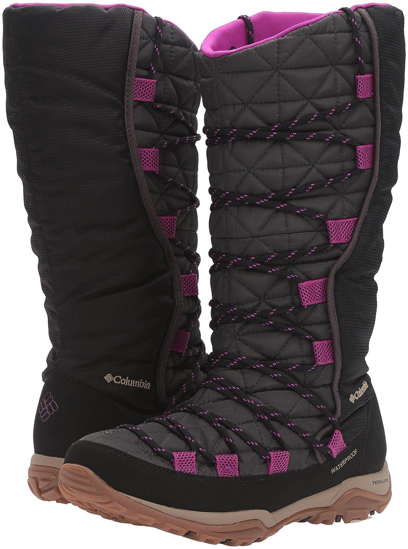 Columbia Women's Loveland Omni-Heat Snow Boot B0183NZ7SU 8.5 B(M) US|Shark/Bright Plum