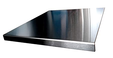 600 x 580mm Square Fold plata