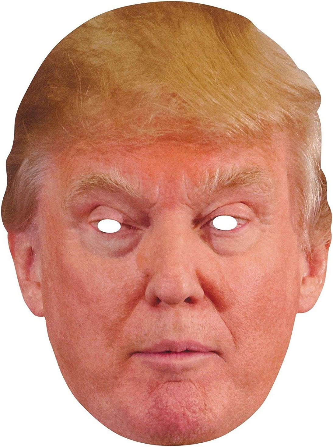 PACK OF DONALD TRUMP FACE MASK HAIR NOVELTY PRESIDENT USA FUNNY FANCY DRESS LOT