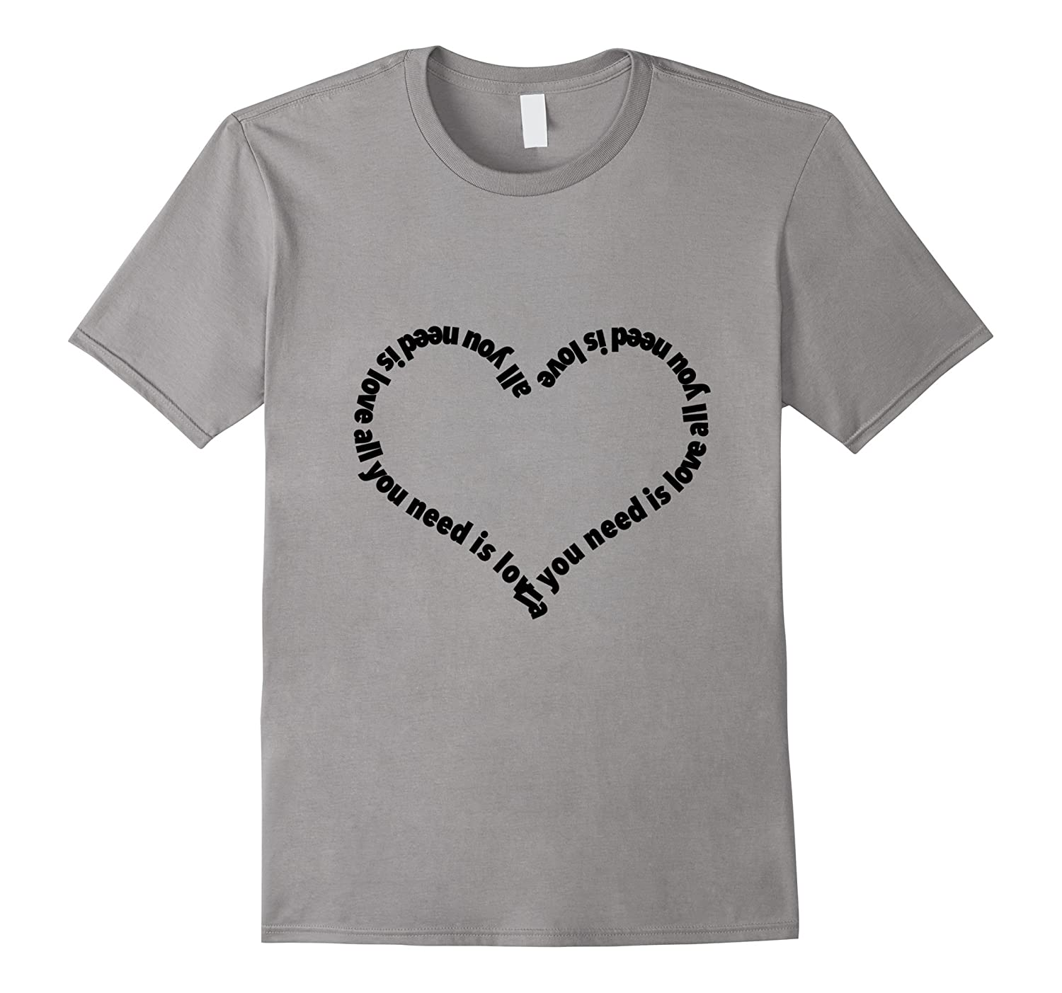 All you need is love heart shirt-TH