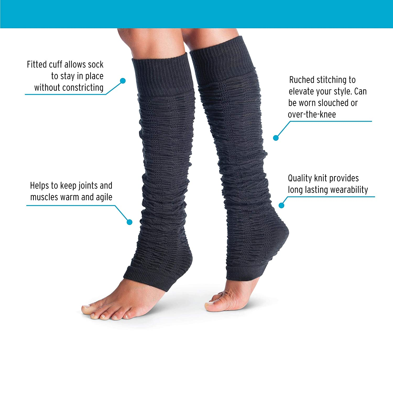 Amazon.com: tucketts calentadores de la pierna Calcetines ...