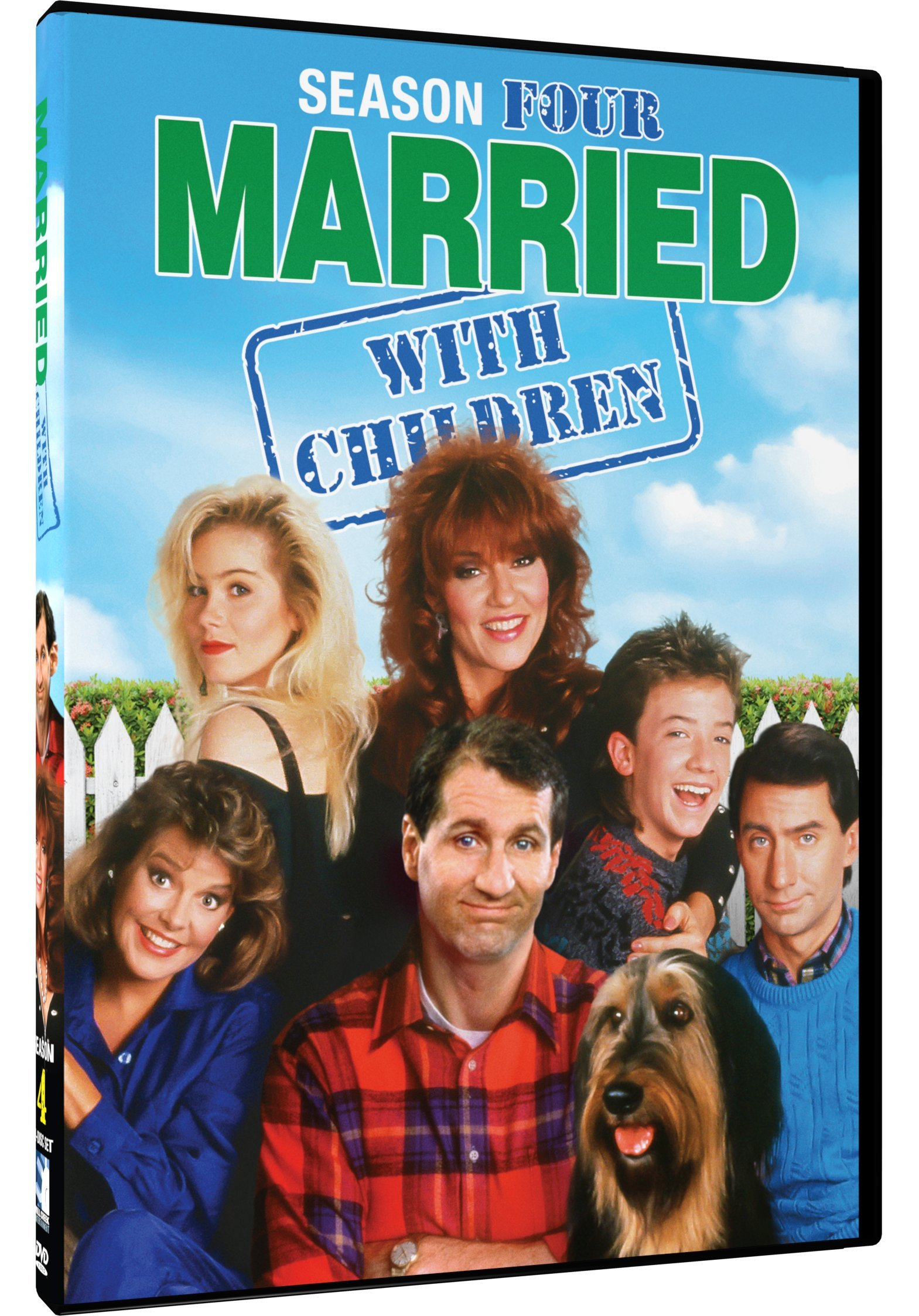 DVD : Married With Children: Season 4 (2 Pack, 2PC)