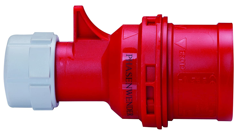 Blass Elektro CEE Phasenwender, 16 A, rot/weiß , 31281