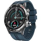 BingoFit Smart klocka för män, full pekskärm aktivitetsmätare hjärtfrekvensmonitor blodtryck fitness smartklocka…