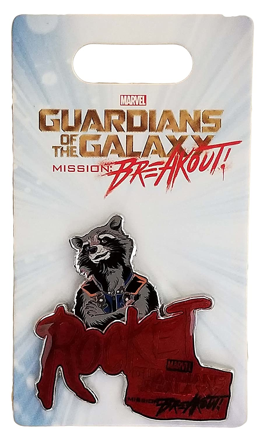 Disney Pin - Marvel Guardians of the Galaxy - Mission: Breakout - Rocket Raccoon