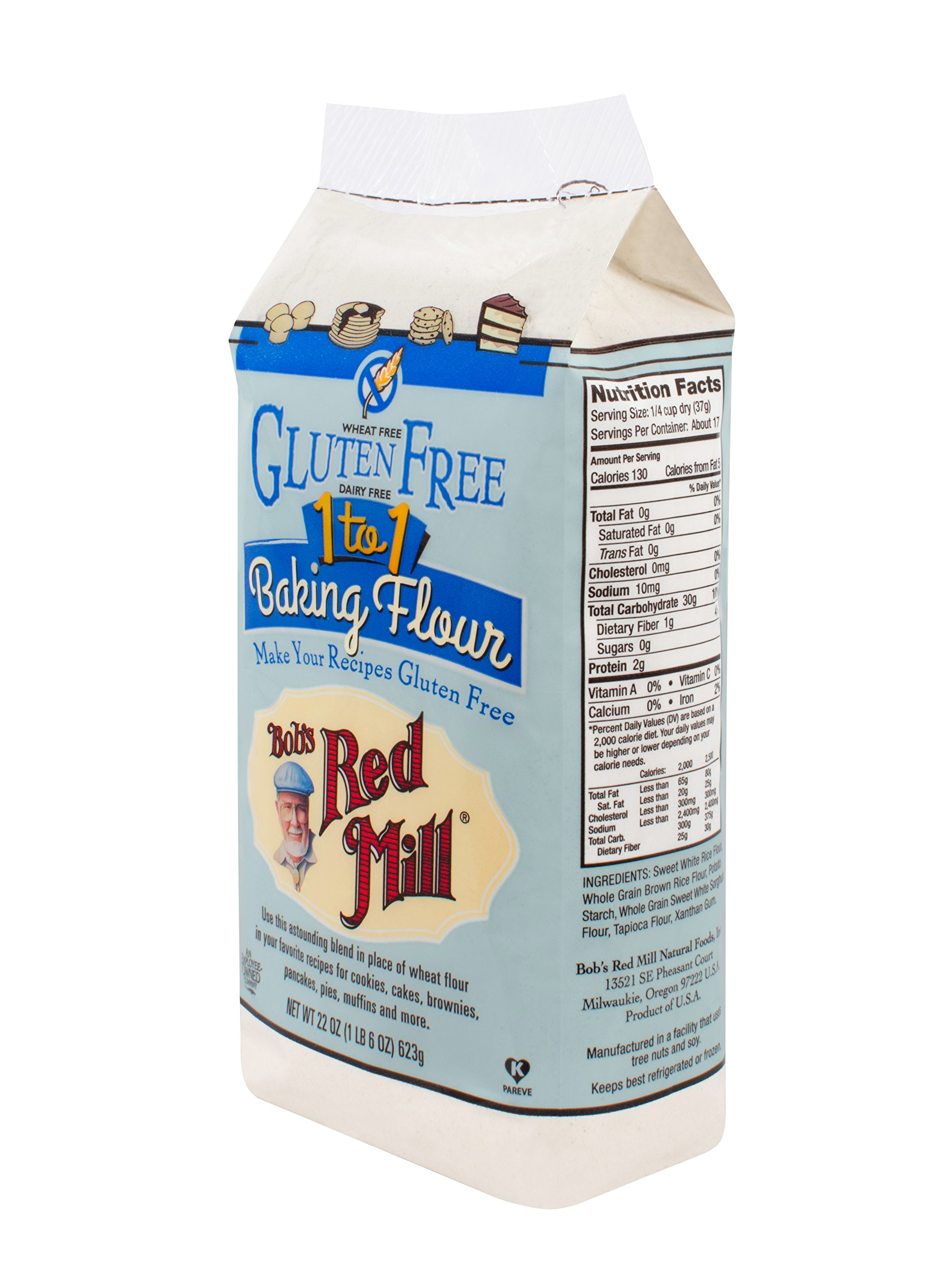 Bob's Red Mill Gluten Free 1-to-1 Baking Flour, 22-ounce by Bob's Red Mill (Image #5)
