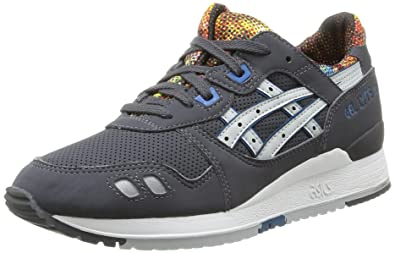 5ed2c9e215 ASICS Damen Gel-Lyte III Traillaufschuhe Grau (1610-Dark Soft Grey),