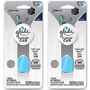 Amazon Com Glade Plugins Car Air Freshener Refill New Car Feel