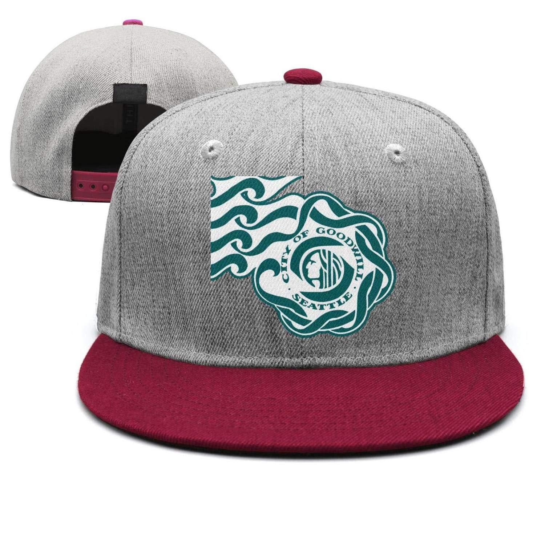 Cotton Casual Trucker hat Adjustable Fits Mesh Baseball Caps for Man and Woman smsdpmc Spokane-Classic-Arts-Washington