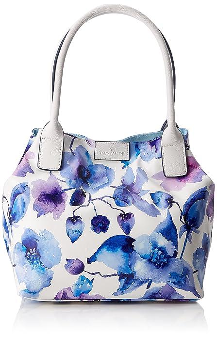 Acc Miri Fall, Womens Shoulder Bag, Mehrfarbig (Multi), 17.5x28x43 cm (wxhxd) Tom Tailor