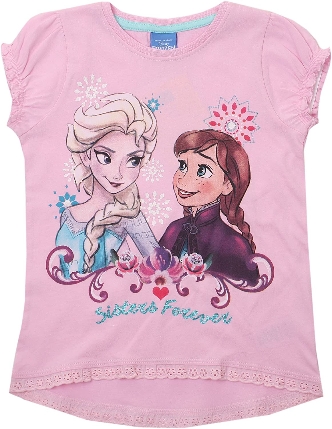 Disney Frozen-Forever-Kids T-Pink Giacca Bambina