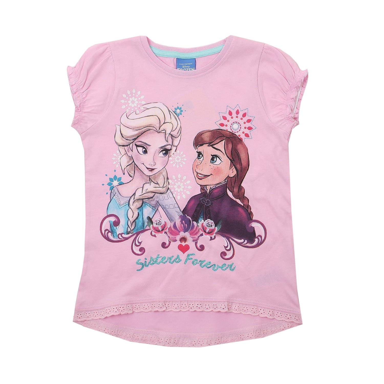 Disney Frozen-Forever-Kids T-Pink, Giacca Bambina RFKTS707