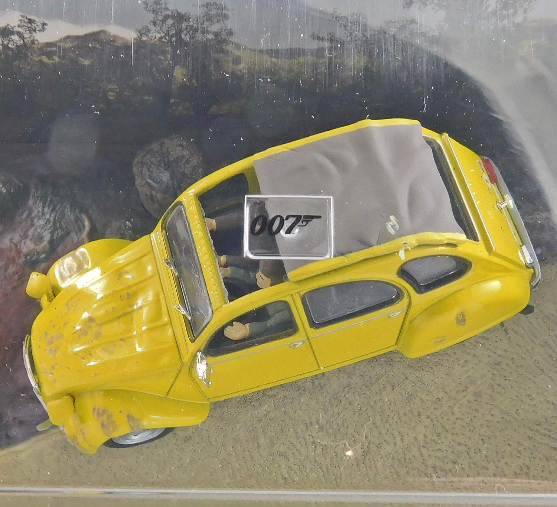 007 James Bond Seven Secrets Citroen 2CV Diecast Model Car DY005 For your eyes only Edition
