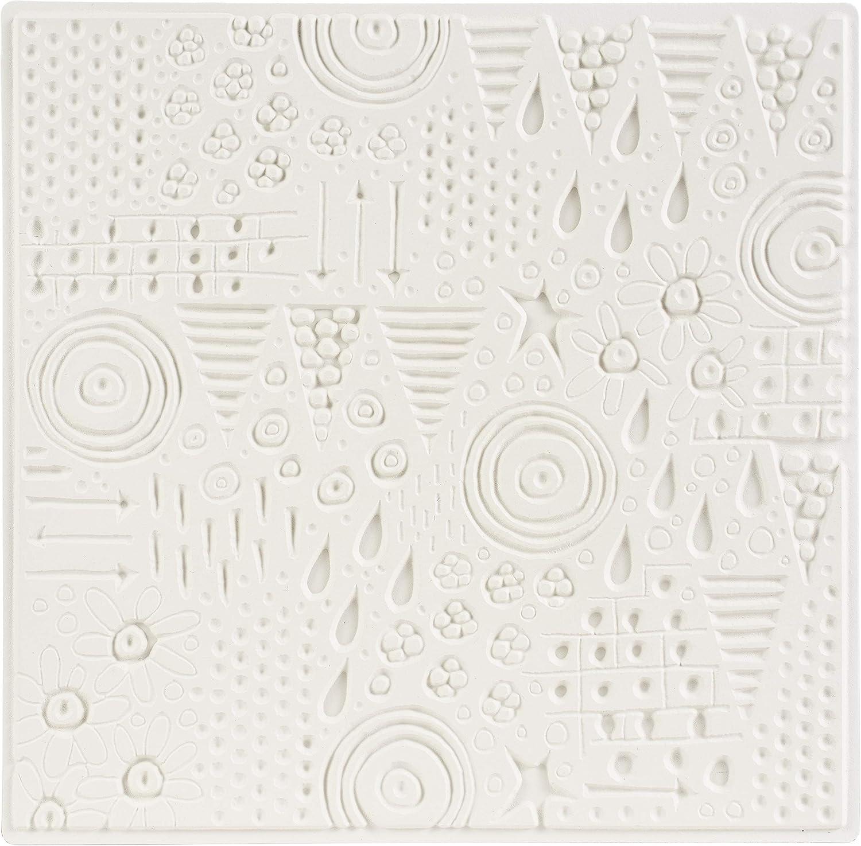 CARABELLE STUDIO Rubber Texture Plate Jamboree One Size