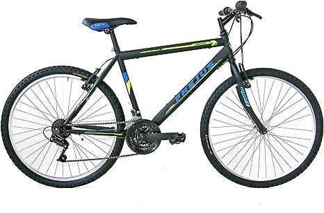 FREJUS York, Bicicleta Mountain Bike Hombre, Negro, M: Amazon ...
