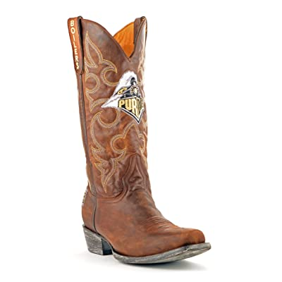 NCAA Purdue Boilermakers Men's Board Room Style Boots: Sports & Outdoors