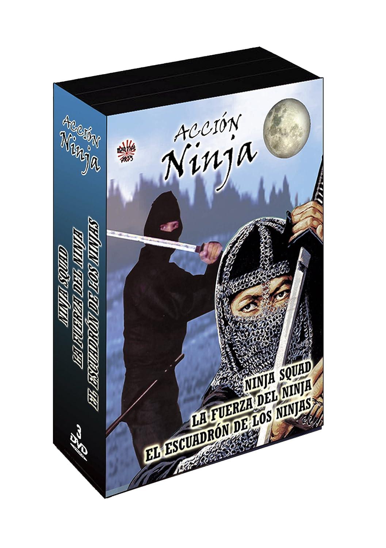 Pack Acción Ninja: Ninja Squad/La Fuerza del Ninja/El ...