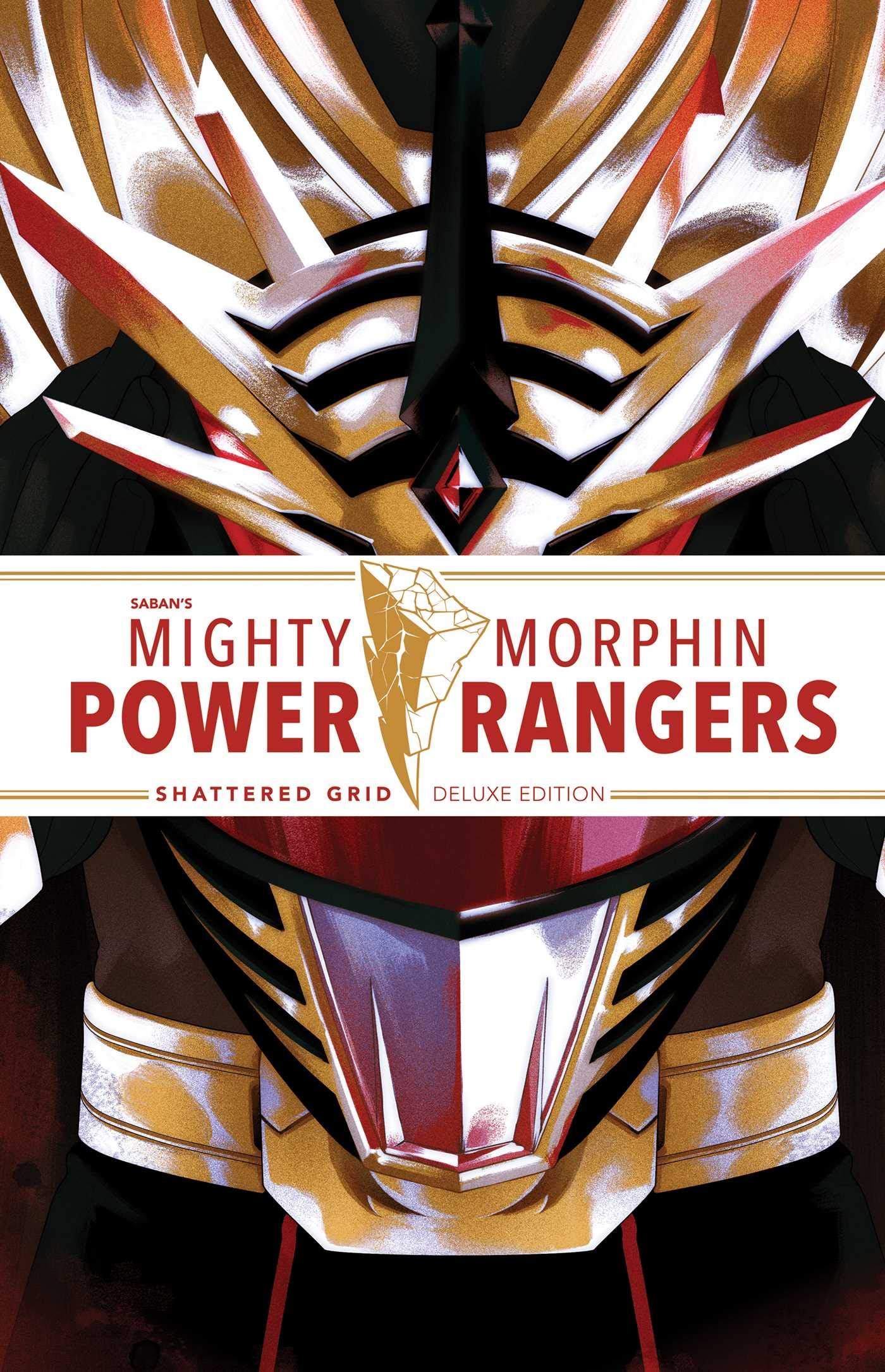 Mighty Morphin Power Rangers: Shattered Grid Deluxe Edition by BOOM! Studios
