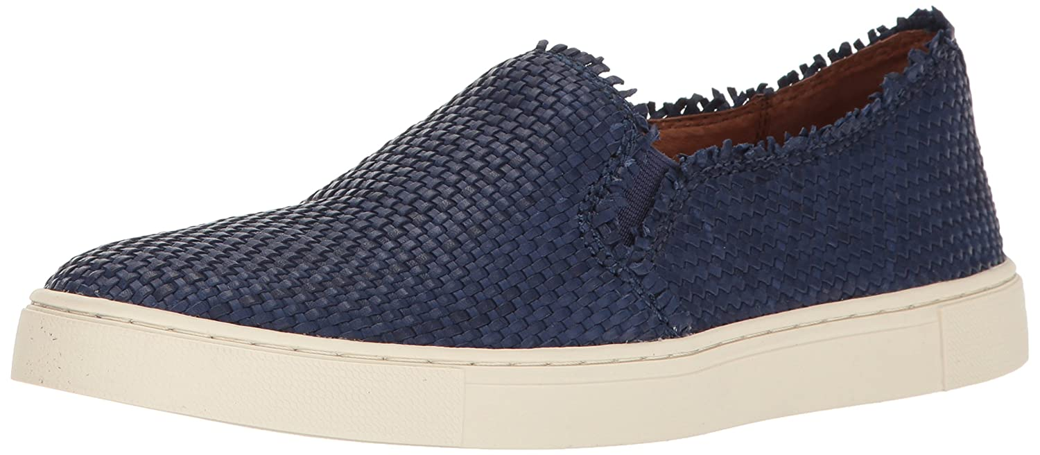 FRYE Women's Ivy Fray Woven Slip Fashion Sneaker B01JZUFEQ0 7.5 B(M) US|Navy