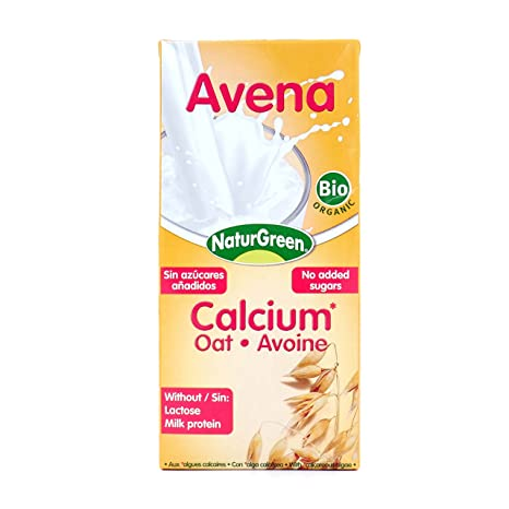 NATURGREEN BEBIDA AVENA CALCIUM 200 ml