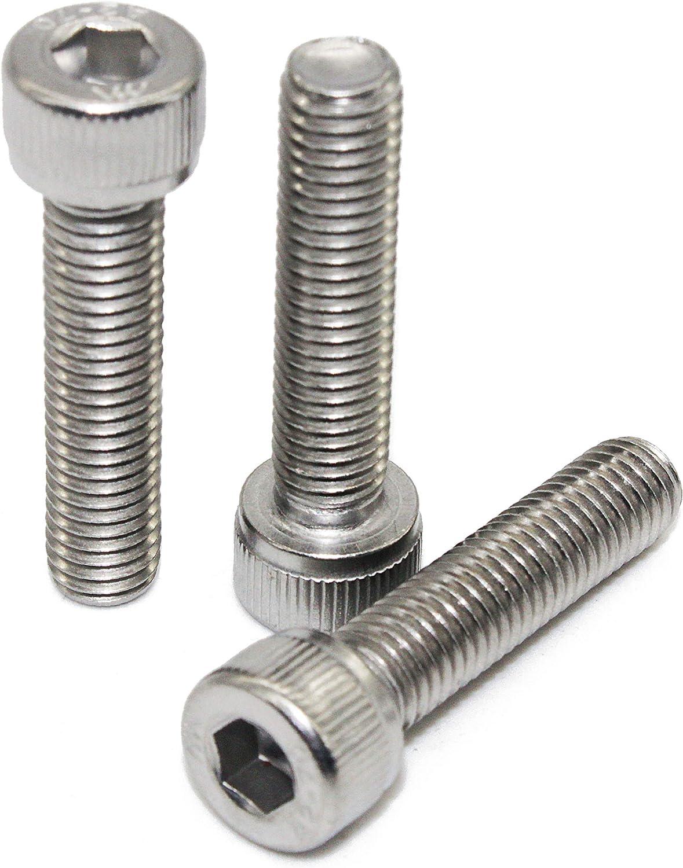 Edelstahl A2 V2A- rostfrei - Zylinderkopf Schrauben ISO 4762 Zylinderschrauben mit Innensechskant M5 x 35 mm Gewindeschrauben Eisenwaren2000 DIN 912 10 St/ück