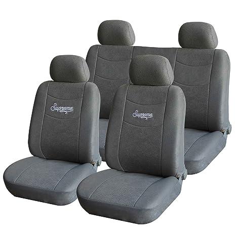 Pleasing Amazon Com Adeco Cv0208 8 Piece Soft Velvet Car Vehicle Pabps2019 Chair Design Images Pabps2019Com