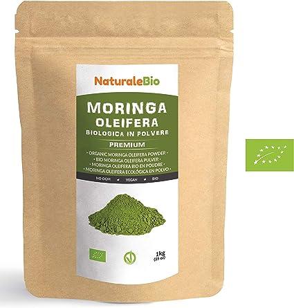 Moringa Oleifera Ecológica en Polvo [Calidad Premium] de 1kg ...