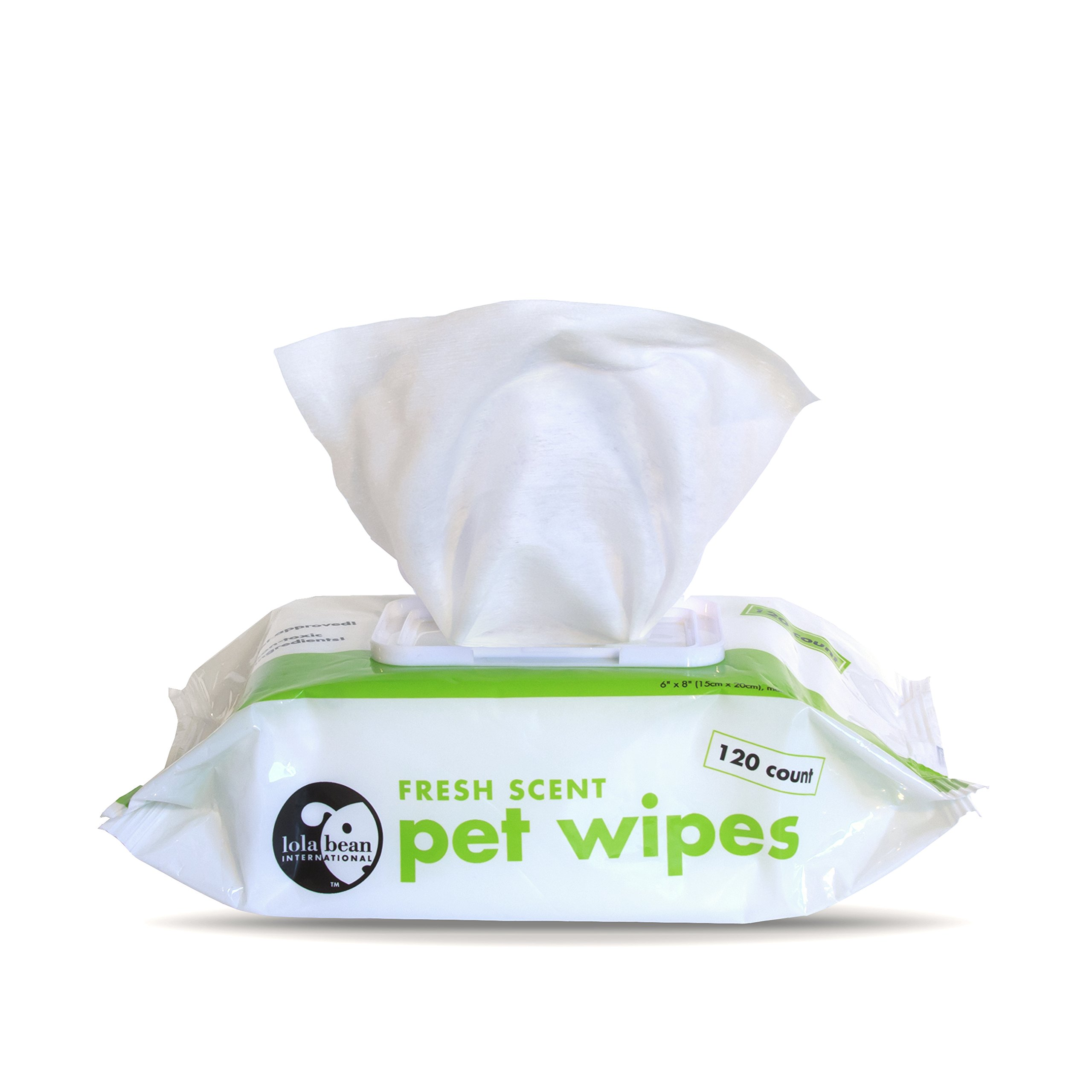 Fresh Scent Pet Wipes - Dog Puppy