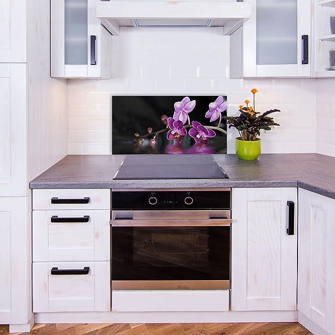 decorwelt - Panel de Vidrio antisalpicaduras para Cocina (80 ...