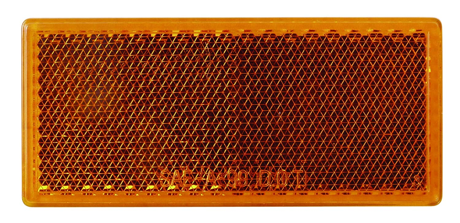 Optronics RE-10ABP Amber Reflector