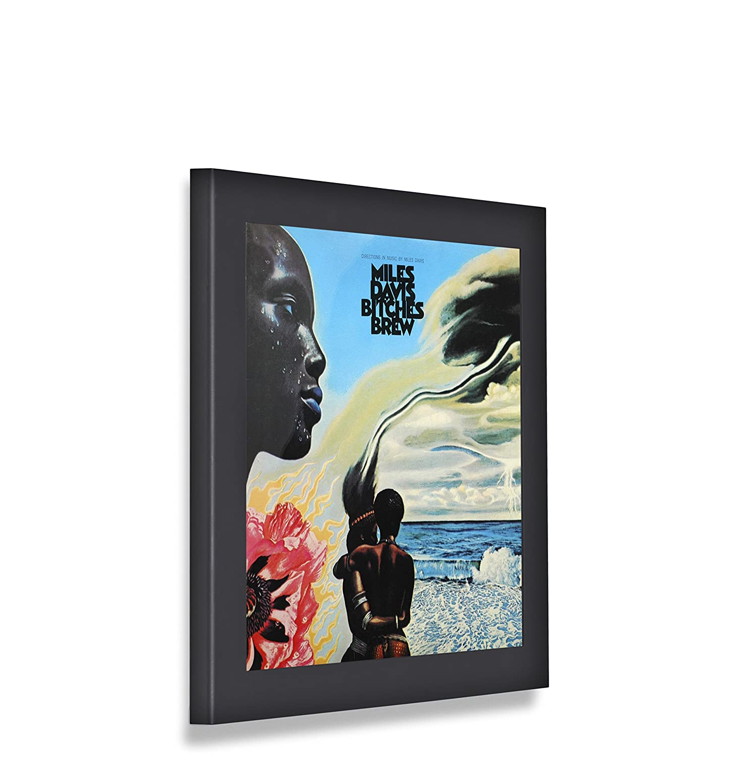 Amazon.com: Art Vinyl Show & Listen Album Cover Display Frame, Flip ...