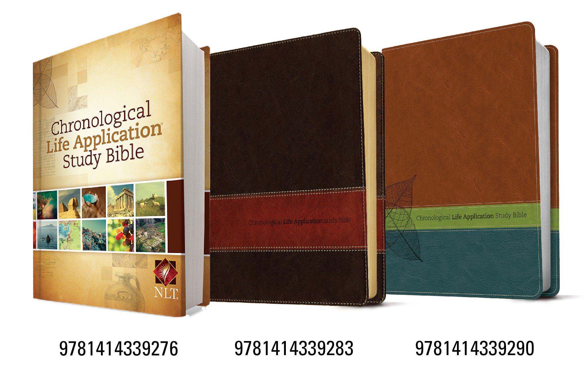 Chronological Life Application Study Bible NLT: Tyndale: 9781414339276:  Amazon.com: Books
