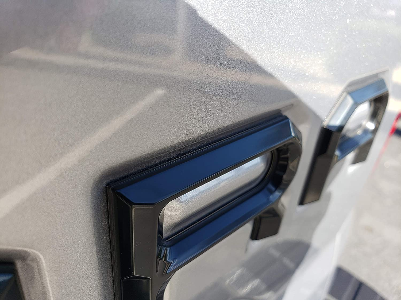 EyeCatcher Tailgate Insert Letters for 2014-2019 Toyota Tundra Matte Black