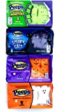 Peeps Halloween Marshmallow Assortment Spooky Cats, Pumpkins, Monsters & Ghosts