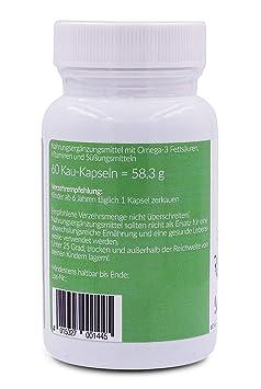 Omega 3 niños y vitaminas para niños, NaturElan, 60 cápsulas ...