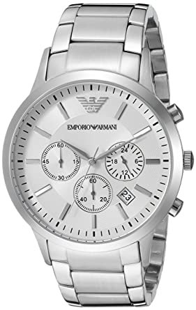 Image Unavailable. Image not available for. Colour  Emporio Armani Analog  White Dial Men s Watch - AR2458 7d165e66f4