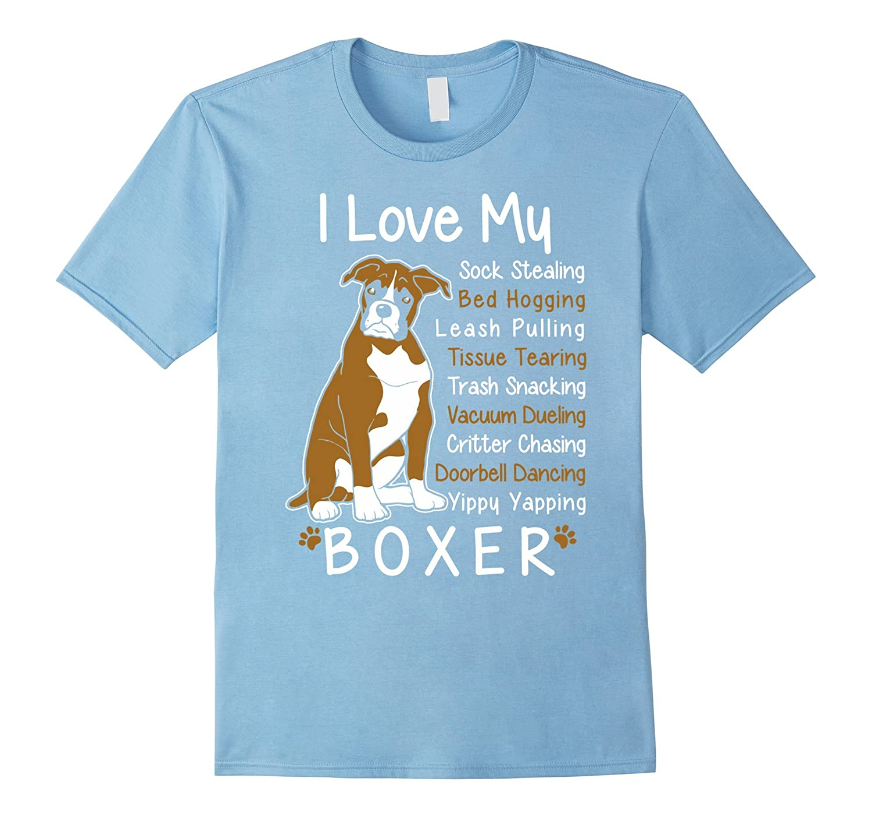 Boxer T-shirt , I love my Boxer-CL
