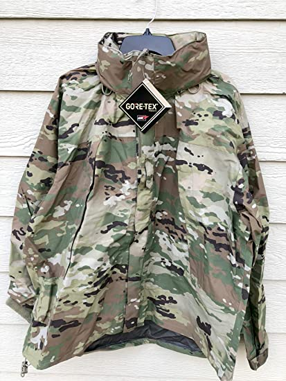 0d1a9e80f80 Amazon.com   Us Army Issue Ecwcs Gen III Level 6 Gore Tex Multicam Extreme  Cold Wet Weather Jacket - Large Regular.   Everything Else