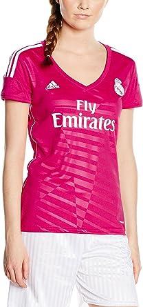 adidas - Camiseta de Mujer 2ª equipación Real Madrid CF 2014-2015 ...