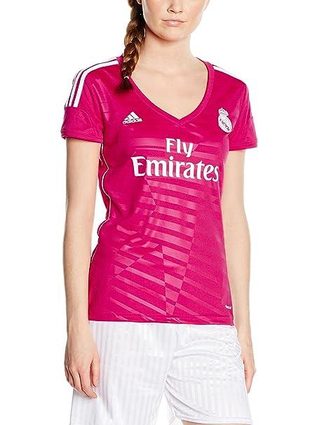 Adidas Real Madrid - Camiseta de fútbol para Mujer, Color Rosa Rosa Rosa XXS: Amazon.es: Ropa y accesorios