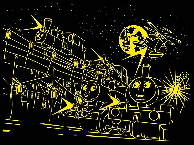 Brilla en la Oscuridad Ravensburger Puzzle Thomas y Sus Amigos 60 Piezas de tama/ño Extra Grande