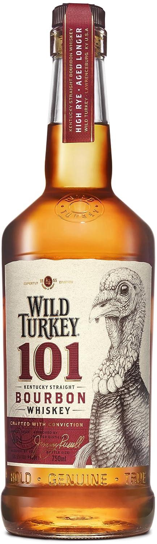 Wild Turkey 101 Bourbon Whiskey (1 x 0.7 l): Amazon.de: Bier, Wein ...