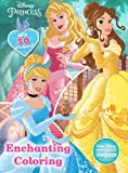Disney Princess Enchanting Coloring: With 50 Stickers! (Jumbo Coloring Book W/ 5 Stickers)