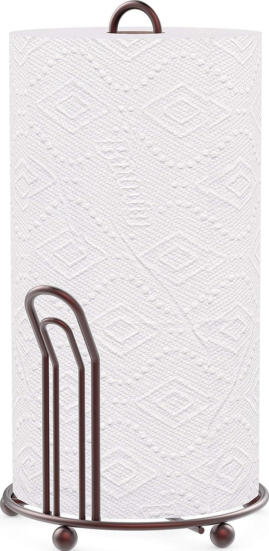 Simple Houseware Paper Towel Holder, Bronze