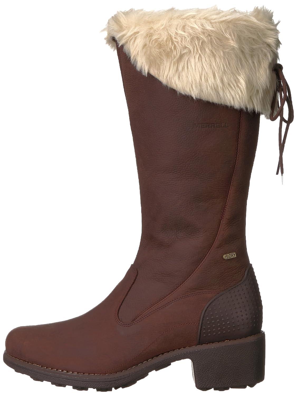 Merrell Womens Chateau Tall Zip Polar Waterproof Snow Boot