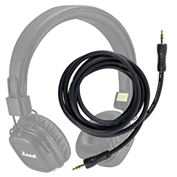 DURAGADGET Cable De Audio Para Auriculares Marshall Major II/Major II Bluetooth/Major II