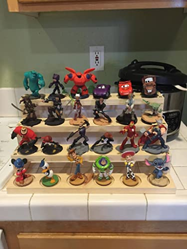 32be12073 Disney Infinity Display Stands. 24 Slots!