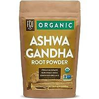 Organic Ashwagandha Root Powder | 16oz Resealable Kraft Bag (1lb) | 100% Raw from...